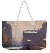 Tremont And Boylston Streets, Boston Weekender Tote Bag