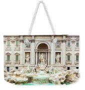 Trevi Fountain, Fontana Di Trevi, After The Restoration Of 2015  Weekender Tote Bag