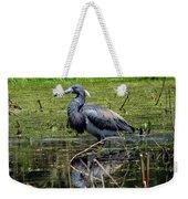 Tri-colored Heron 12 Weekender Tote Bag