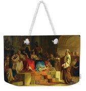 Trial Of The Apostle Paul Weekender Tote Bag