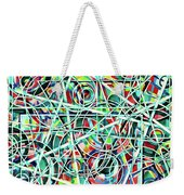 Triangle Interlacing Weekender Tote Bag