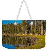 Triangle Lake Weekender Tote Bag