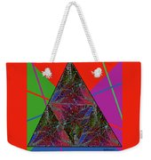 Triangular Thoughts Weekender Tote Bag