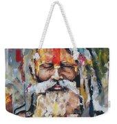 Tribal Chief Sadhu Weekender Tote Bag