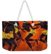 Tribal Dance Weekender Tote Bag
