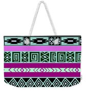 Tribal Pattern 06 Weekender Tote Bag