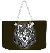 Tribal Wolf Weekender Tote Bag