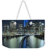 Tribute In Light Weekender Tote Bag