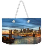 Tribute In Light I Weekender Tote Bag by Clarence Holmes