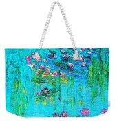 Tribute To Monet Weekender Tote Bag