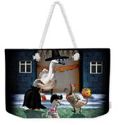 Trick Or Treat Time For Little Ducks Weekender Tote Bag