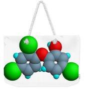 Triclosan Molecule Weekender Tote Bag