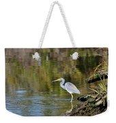 Tricolored Heron Fishing Weekender Tote Bag