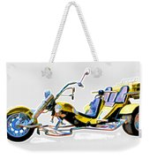 Tricycle Weekender Tote Bag