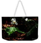 Trillium In The Woods Weekender Tote Bag