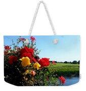 Trim Florals Weekender Tote Bag