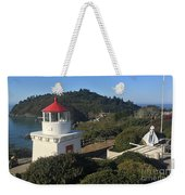 Trinidad Head Memorial Lighthouse, California Lighthouse Weekender Tote Bag