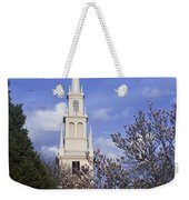 Trinity Church In Spring Weekender Tote Bag