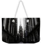 Trinity Church New York City Weekender Tote Bag