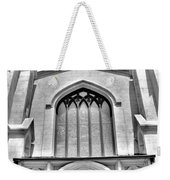 Trinity Episcopal Cathedral Black And White Weekender Tote Bag