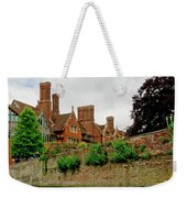 Trinity Hall From The Backs. Cambridge. Weekender Tote Bag