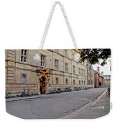 Trinity Hall In The Evening. Cambridge. Weekender Tote Bag