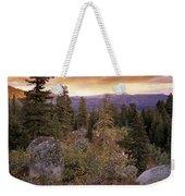 Trinity Mountains Weekender Tote Bag