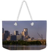 Trinity River Dallas 3 Weekender Tote Bag