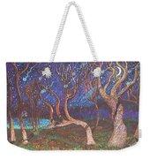 Trinity Tree By Moonlight Weekender Tote Bag