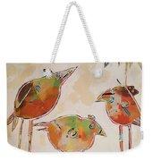 Trio Birds Weekender Tote Bag