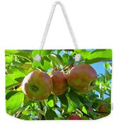 Trio Of Apples Weekender Tote Bag