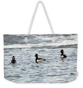 Trio Of Ducks Weekender Tote Bag