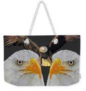 Triple Eagle Weekender Tote Bag