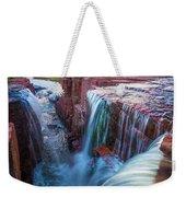Triple Falls Cascades Weekender Tote Bag