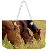 Triple Mustang Treat Weekender Tote Bag