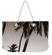 Triple Palms Weekender Tote Bag