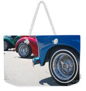 Triple Parked Number Two Weekender Tote Bag