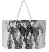 Triple Robocop Weekender Tote Bag