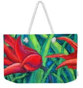 Triple Tease Tulips Weekender Tote Bag