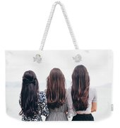 Triplets Weekender Tote Bag