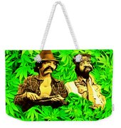 Trippin With Cheech And Chong Weekender Tote Bag