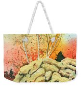 Triptych Panel 2 Weekender Tote Bag