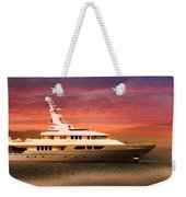 Triton Yacht Weekender Tote Bag by Aaron Berg