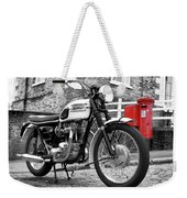Triumph Bonneville 1963 Weekender Tote Bag
