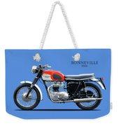 Triumph Bonneville 1966 Weekender Tote Bag