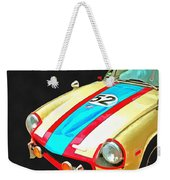 Triumph Gt Pop Art Weekender Tote Bag