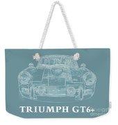 Triumph Gt6 Plus Weekender Tote Bag