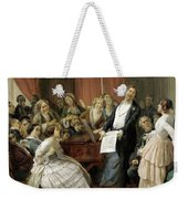 Triumph Of A Tenor At A Musical Matinee Weekender Tote Bag
