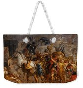 Triumphal Entry Of Henry Iv In Paris Weekender Tote Bag