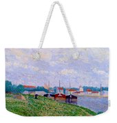 Trois P Niches Amarr Es Aux Abords D Une Ville Industrielle 1886 Weekender Tote Bag